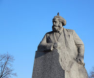Monument to Karl Marx. In Moscow stock images