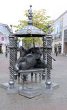 Monument to the Kazan cat Royalty Free Stock Photos