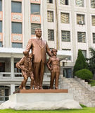 Monument to Kim Il Sung in Pyongyang Royalty Free Stock Photography