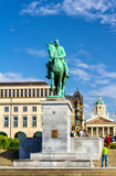 Monument to King Albert I in Brussels royalty free stock photos