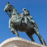 Monument to King Carlos III Royalty Free Stock Photo
