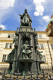 Monument to King Charles IV Royalty Free Stock Image