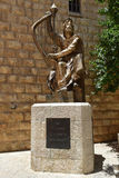 Monument to King David, Israel Royalty Free Stock Photography