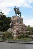Monument to King Jaime I in Palma de Mallorca. Royalty Free Stock Photo