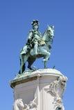 Monument to King Joseph. In Lisbon Stock Image