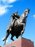 Monument to king Peter I K. royalty free stock photos