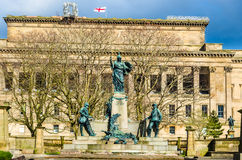 Monument to the King's Liverpool Regiment Royalty Free Stock Image