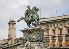 Monument to King Victor Emmanuel II.  Royalty Free Stock Image