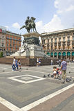 The monument to king Vittorio Emanuele II. Stock Image