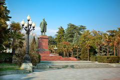 Monument to Lenin Royalty Free Stock Images