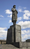 Monument to Lenin in Krasnoyarsk. Russia Royalty Free Stock Photography