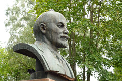 Monument to Lenin on Moscow Square. Royalty Free Stock Images