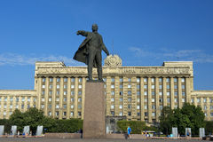 Monument to Lenin on Moscow Square, St Petersburg Stock Photography