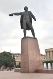 Monument to Lenin on Moscow Square. Royalty Free Stock Photography