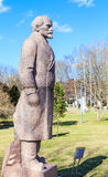 Monument to Lenin. Park of arts `Museon`. Moscow Royalty Free Stock Photos