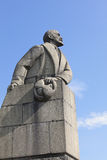 Monument to Lenin in Petrozavodsk. Russia Stock Photos