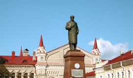Monument to Lenin Royalty Free Stock Photography