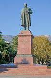 Monument to Lenin in Yalta Stock Image