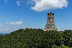 Monument to Liberty Shipka and landscape to Stara Planina Balkan Mountain, Bulgaria. Monument to Liberty Shipka and landscape to Stara Planina Balkan Mountain stock photography