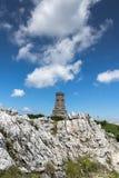 Monument to Liberty Shipka and landscape to Stara Planina Balkan Mountain, Bulgaria. Monument to Liberty Shipka and landscape to Stara Planina Balkan Mountain stock images