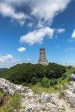 Monument to Liberty Shipka and landscape to Stara Planina Balkan Mountain, Bulgaria. Monument to Liberty Shipka and landscape to Stara Planina Balkan Mountain stock photo