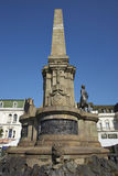 Monument to Lord Cochrane in Valparaiso, Chile Royalty Free Stock Photos