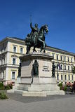 Monument to Ludwig I in Munich, Germany Stock Photography