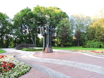 Monument to M. K. Ciurlionis , Lithuania Royalty Free Stock Image