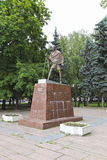 Monument to Mahatma Gandhi in Moscow Stock Photography