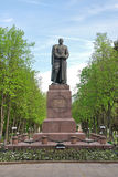 Monument to Major General Gurtev. Russia. city Orel. Royalty Free Stock Photography