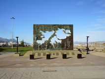 Monument to the Malvinas War. Monument to the Malvinas War on April 24, 2013 in Ushuaia, Argentina Stock Photography