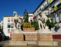 The monument to  Manolete, Cordoba, Spain Royalty Free Stock Photography