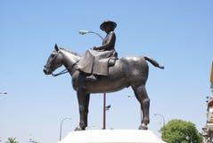 Monument to Maria de las Mercedes de Borbon, Seville Stock Photo