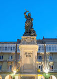 Monument to Maria Pita in La Coruna, Spain. Royalty Free Stock Image