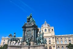 Monument to Maria Theresa. Vienna. Au Royalty Free Stock Photos