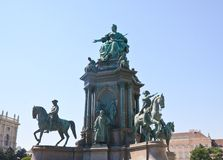 Monument to Maria Theresa. Vienna. Austria Royalty Free Stock Photos