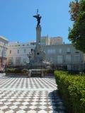 Monument to Marqués de Comillas, Cadiz Royalty Free Stock Photography