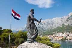 Monument to Marshal Marmont. Croatia Royalty Free Stock Photo