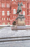 Monument to Marshal Zhukov Royalty Free Stock Photography