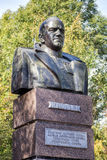 Monument to Marshal Zhukov Victory Park. Belgorod. Russia Royalty Free Stock Image