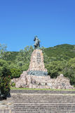 Monument to Martin Miguel de Guemes, Salta. Monument to Martin Miguel de Guemes, a military leader and caudillo who defended Argentina stock image