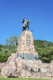 Monument to Martin Miguel de Guemes, Salta. Monument to Martin Miguel de Guemes, a military leader and caudillo who defended Argentina royalty free stock photos