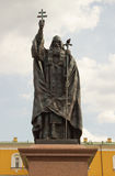 Monument to the martyr Hermogenes in Moscow Royalty Free Stock Photography