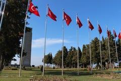 Martyrs Monument. Monument to the martyrs monument in Gallipoli, Çanakkale Royalty Free Stock Photos