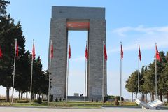 Martyrs Monument Stock Photography