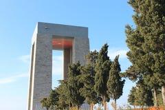 Martyrs Monument. Monument to the martyrs monument in Gallipoli, Çanakkale Stock Photos