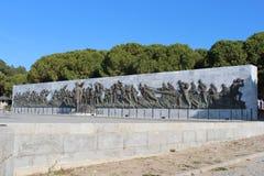 Martyrs Monument. Monument to the martyrs monument in Gallipoli, Çanakkale Stock Image