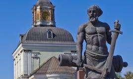 Monument to the master gunsmith Nikita Demidov. Stock Photography