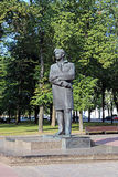 Monument to Maxim Bogdanovich Stock Photo