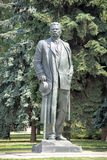 The Monument to Maxim Gorky at Moscow Park of Arts. The monumental bronze sculpture of Maxim Gorky, created by project of Vera Mukhina and Ivan Shadr in 1951 Royalty Free Stock Photos